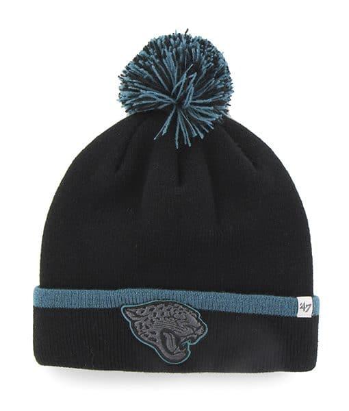Jacksonville Jaguars Baraka Cuff Knit Black 47 Brand Hat