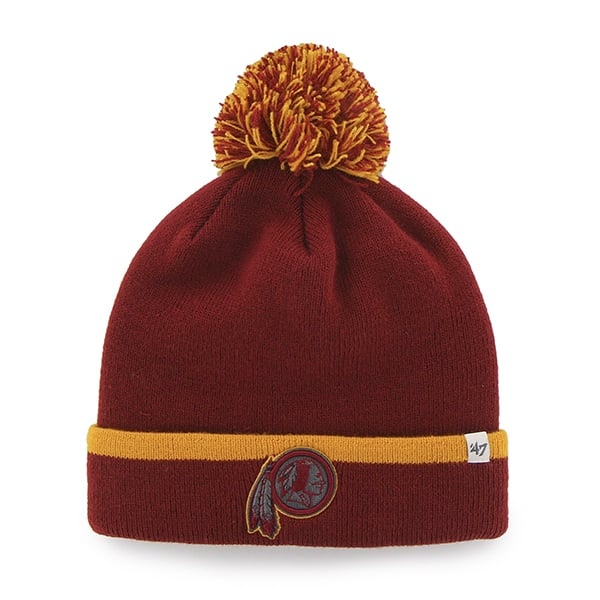 Washington Redskins Baraka Cuff Knit Razor Red 47 Brand Hat
