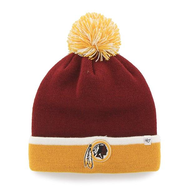 Washington Redskins Baraka Two Tone Cuff Knit Razor Red 47 Brand Hat