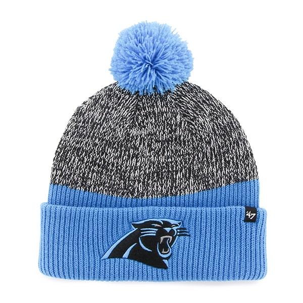 Carolina Panthers Backdrop Cuff Knit Glacier Blue 47 Brand Hat
