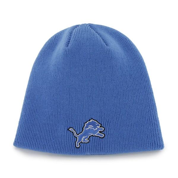 Detroit Lions Beanie Blue Raz 47 Brand Hat