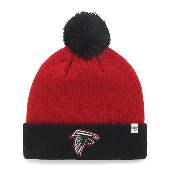 Atlanta Falcons Bounder Cuff Knit Red 47 Brand Hat