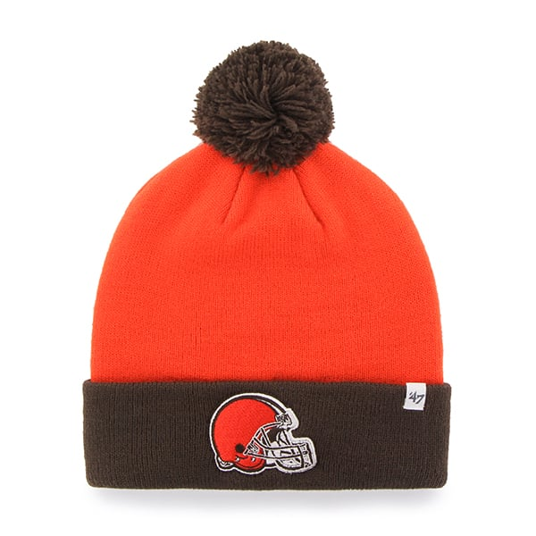 Cleveland Browns Bounder Cuff Knit Thunder 47 Brand Hat
