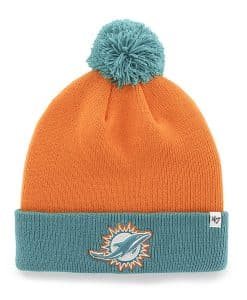 Miami Dolphins Bounder Cuff Knit Pylon 47 Brand Hat
