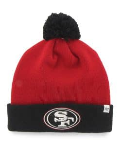 San Francisco 49Ers Bounder Cuff Knit Red 47 Brand Hat