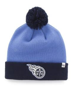 Tennessee Titans Bounder Cuff Knit Periwinkle 47 Brand Hat
