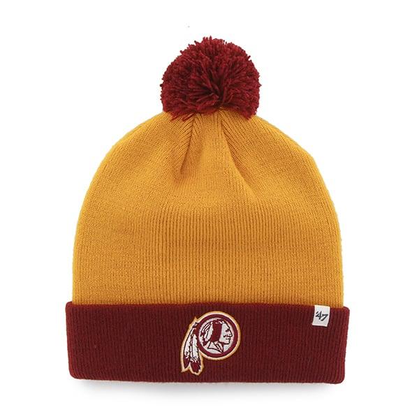 Washington Redskins Bounder Cuff Knit Gold 47 Brand Hat