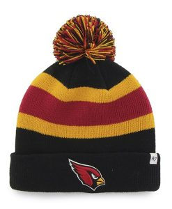 Arizona Cardinals Breakaway Cuff Knit Black 47 Brand Hat