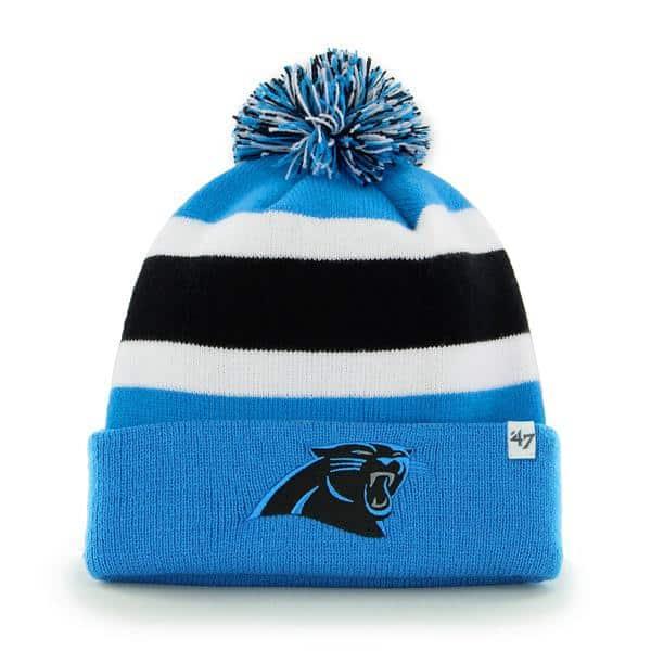 Carolina Panthers Breakaway Cuff Knit Glacier Blue 47 Brand Hat
