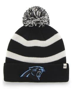 Carolina Panthers Breakaway Cuff Knit Black 47 Brand Hat