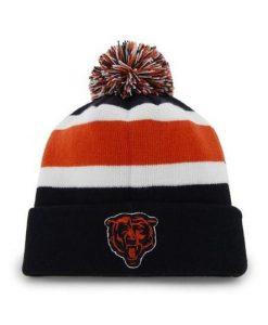 Chicago Bears 47 Brand Classic Navy Breakaway Cuff Knit Hat