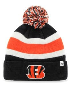 Cincinnati Bengals Breakaway Cuff Knit Black 47 Brand Hat