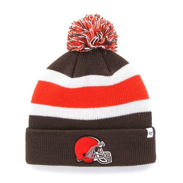 Cleveland Browns Breakaway Cuff Knit Brown 47 Brand Hat