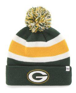 Green Bay Packers 47 Brand Dark Green Breakaway Cuff Knit Hat