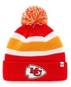Kansas City Chiefs Breakaway Cuff Knit Torch Red 47 Brand Hat