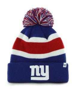 New York Giants 47 Brand Royal Blue Breakaway Cuff Knit Hat