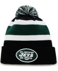 New York Jets Breakaway Cuff Knit Black 47 Brand Hat
