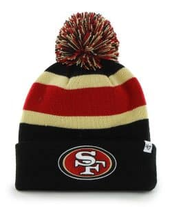 San Francisco 49Ers Breakaway Cuff Knit Black 47 Brand Hat