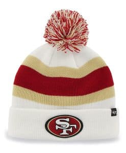 San Francisco 49Ers Breakaway Cuff Knit White 47 Brand Hat