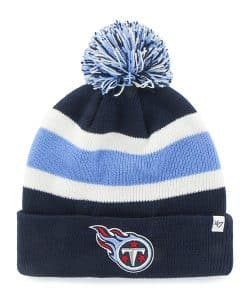 Tennessee Titans Breakaway Cuff Knit Light Navy 47 Brand Hat
