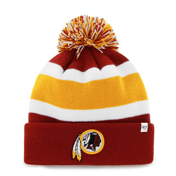 Washington Redskins Breakaway Cuff Knit Razor Red 47 Brand Hat