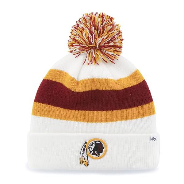 Washington Redskins Breakaway Cuff Knit White 47 Brand Hat