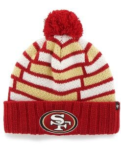 San Francisco 49Ers Breakout Cuff Knit Red 47 Brand Hat