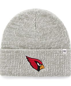 Arizona Cardinals Brain Freeze Cuff Knit Gray 47 Brand Hat