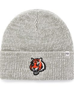 Cincinnati Bengals Brain Freeze Cuff Knit Gray 47 Brand Hat