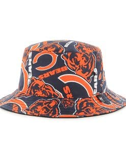 Chicago Bears 47 Brand Bravado Bucket Hat