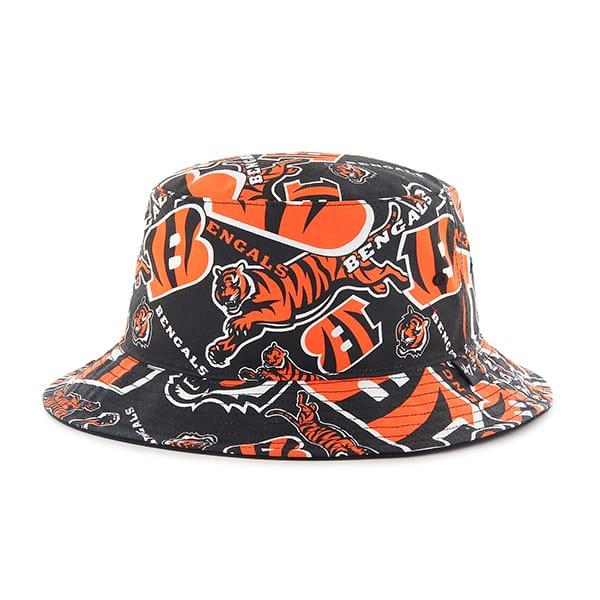 Cincinnati Bengals 47 Brand Bravado Bucket Hat - Detroit Game Gear d06302348