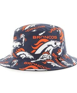 Denver Broncos Bravado Bucket White 47 Brand Hat