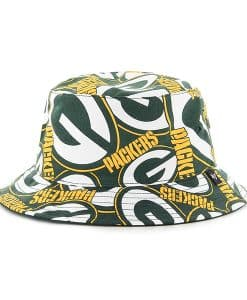 Green Bay Packers Bravado Bucket White 47 Brand Hat