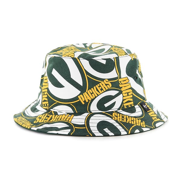 6057dbdd Green Bay Packers 47 Brand Bravado Bucket Hat