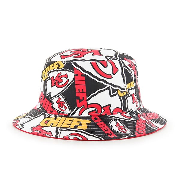 Kansas City Chiefs 47 Brand Bravado Bucket Hat