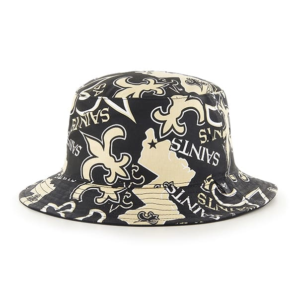 New Orleans Saints 47 Brand Bravado Bucket Hat