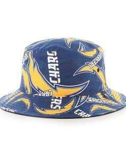 San Diego Chargers 47 Brand Navy Bravado Bucket Hat