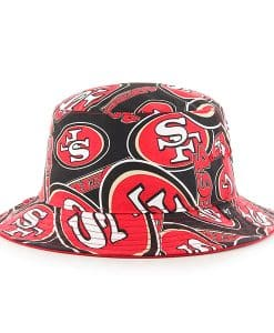 San Francisco 49ers Bravado Bucket White 47 Brand Hat