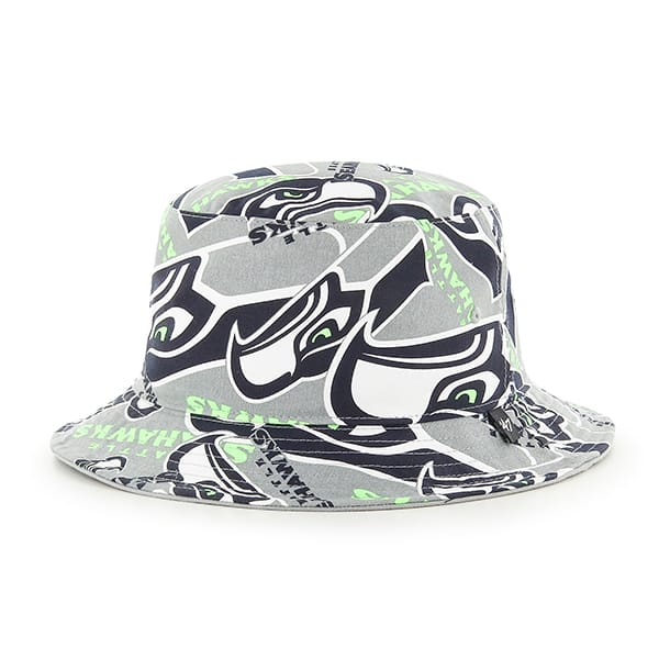 Seattle Seahawks 47 Brand Bravado Bucket Hat