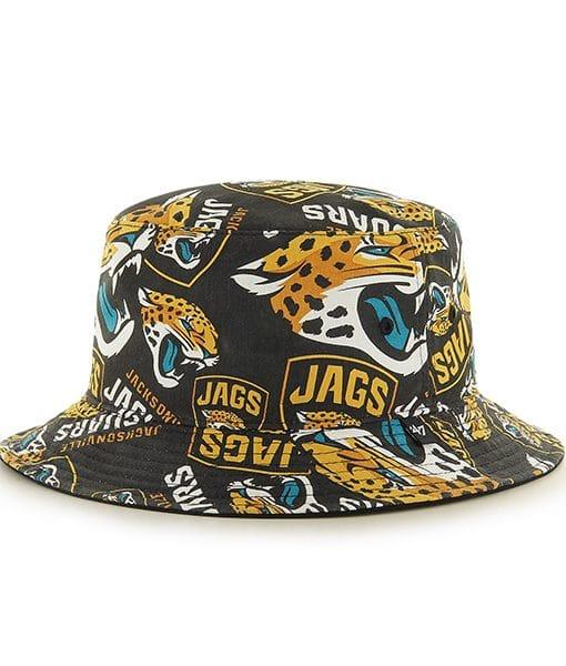Jacksonville Jaguars Bravado Seven Bucket White 47 Brand Hat