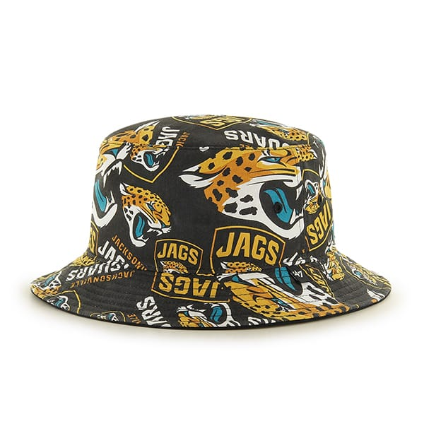 Jacksonville Jaguars 47 Brand Bravado Bucket Hat