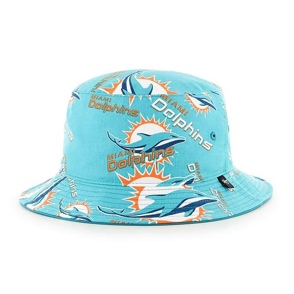 Miami Dolphins 47 Brand Bravado Seven Bucket Hat