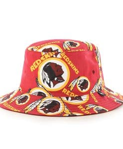 Washington Redskins Bravado Seven Bucket White 47 Brand Hat