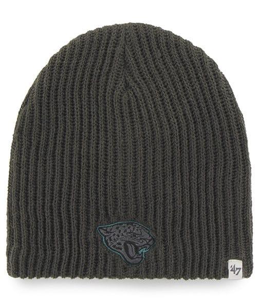 Jacksonville Jaguars Caribou Beanie Charcoal 47 Brand Hat