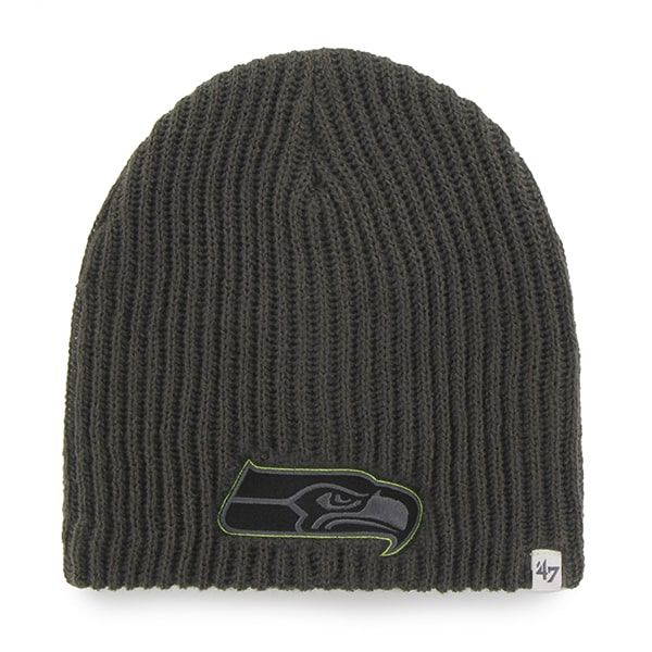 Seattle Seahawks Caribou Beanie Charcoal 47 Brand Hat