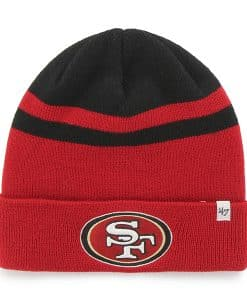 San Francisco 49Ers Cedarwood Cuff Knit Black 47 Brand Hat