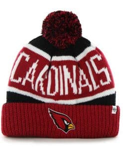 Arizona Cardinals Calgary Cuff Knit Black 47 Brand Hat