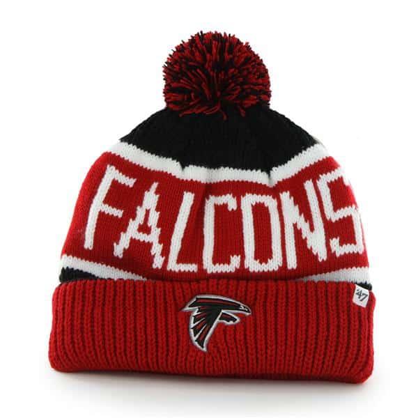 Atlanta Falcons Calgary Cuff Knit Black 47 Brand Hat
