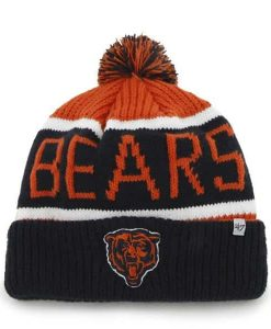 Chicago Bears Calgary Cuff Knit Orange 47 Brand Hat