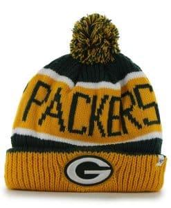 Green Bay Packers Calgary Cuff Knit Dark Green 47 Brand Hat
